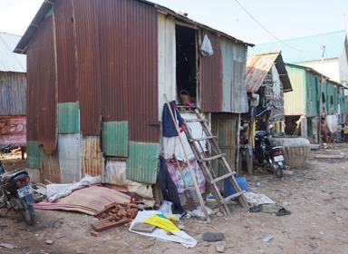 캄보디아 학생들의 집입니다.